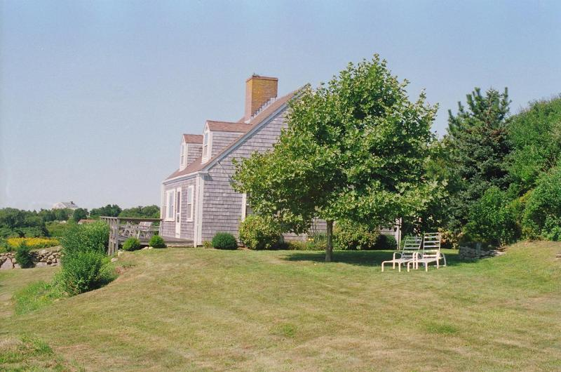 Exterior of House - PARKE - Magnificent Ocean Views, Private Association Beach Rights - Chilmark - rentals