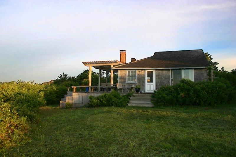 Exterior of House - JAFFP - Waterfront Guest House, Private Beach - Chilmark - rentals