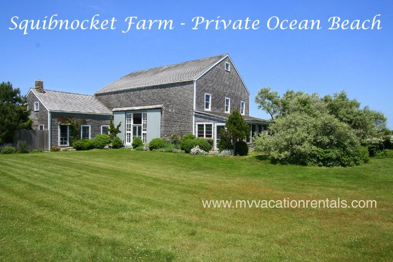 Yard and Barn - HORNP - Squibnocket Farm Waterfront, Private Beach, - Chilmark - rentals