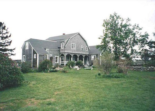 Exterior of House - ALLIS - Down Harbor Chappy, Waterfront - Edgartown - rentals