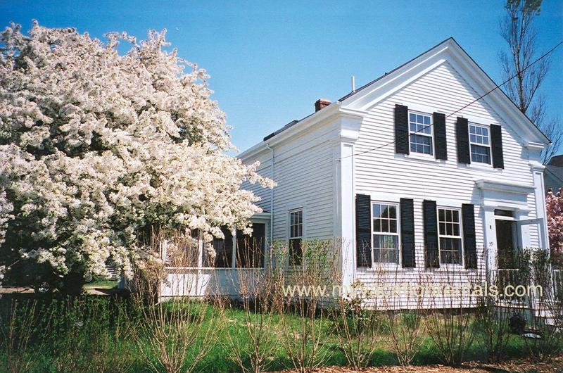 Front of House - ALBAL - Walk to Town - Vineyard Haven - rentals