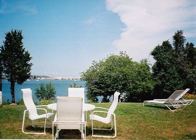 View of Lagoon - MACKD - Hines Point, Waterview, Walk to town - Vineyard Haven - rentals