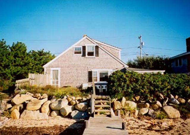 Side of House facing the Water - SCHUS - Waterfront, Waterview - Oak Bluffs - rentals
