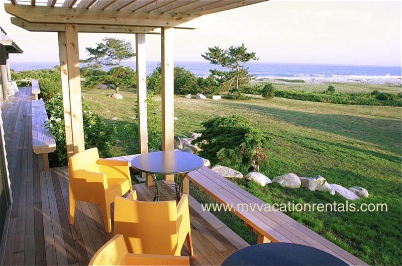 Ocean Front, Private Beach - JAFFJ - Ocean House, Waterfont Splendor, Private South Shore Beach, Maginificent Ocean Views , Walk to Tennis Courts - Chilmark - rentals