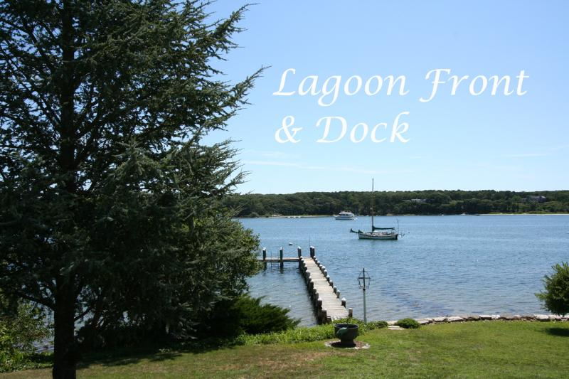 View & Dock - SYLVM - Waterfront, Private Dock, Large Private Yard, WiFi, Central A/C - Vineyard Haven - rentals