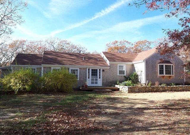 Exterior of House - SPANM - Sweet Chilmark Cottage, Spacious Screened Porch and Deck Area, Private - Chilmark - rentals