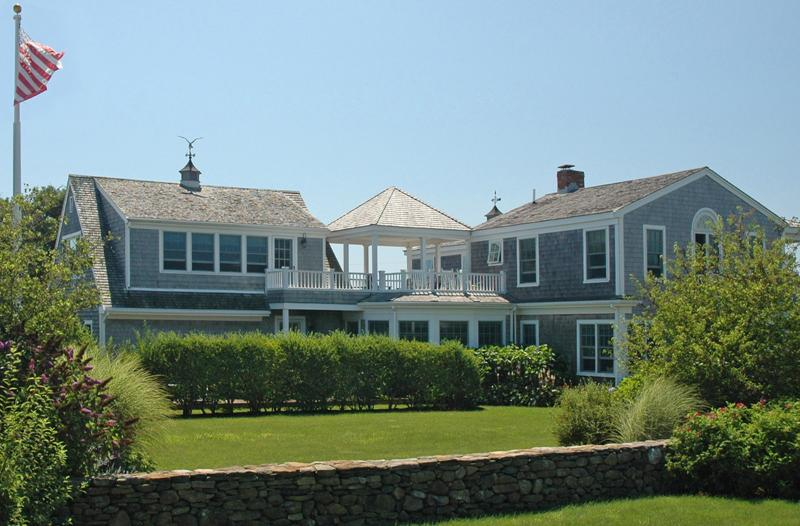Exterior of House - ADAMP - Spacious Katama Summer Home, Short Bike Ride to South Beach, Features - Chappaquiddick - rentals