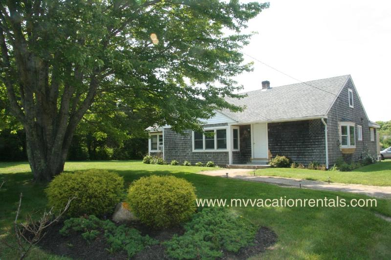 Front of House and Yard - JONEH - AC Bedrooms, Wifi,  Newly Furnished, Walk to Edgartown Main St. - Edgartown - rentals
