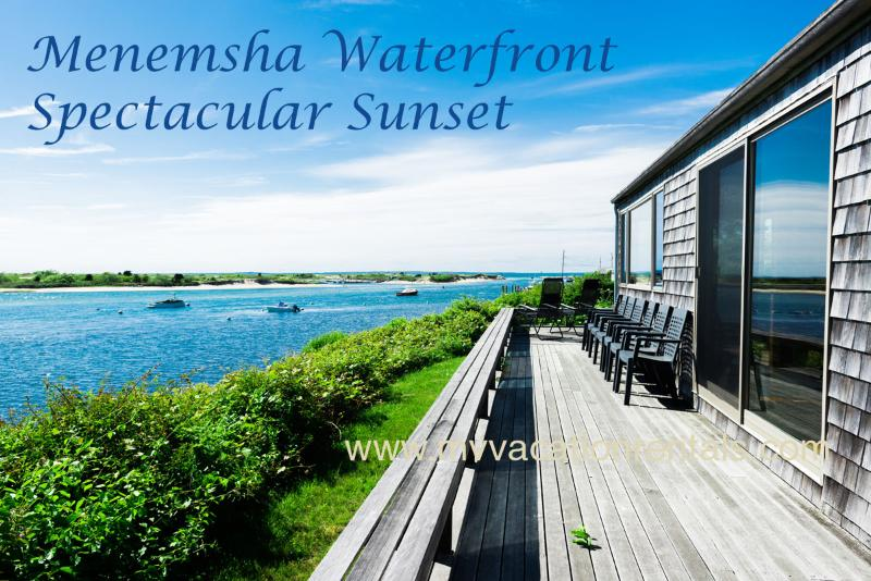 Menemsha Waterfront, Spectacular - LEWID - Menemsha Waterfront,  Magnificent Views and Private Location, WiFi - Chilmark - rentals