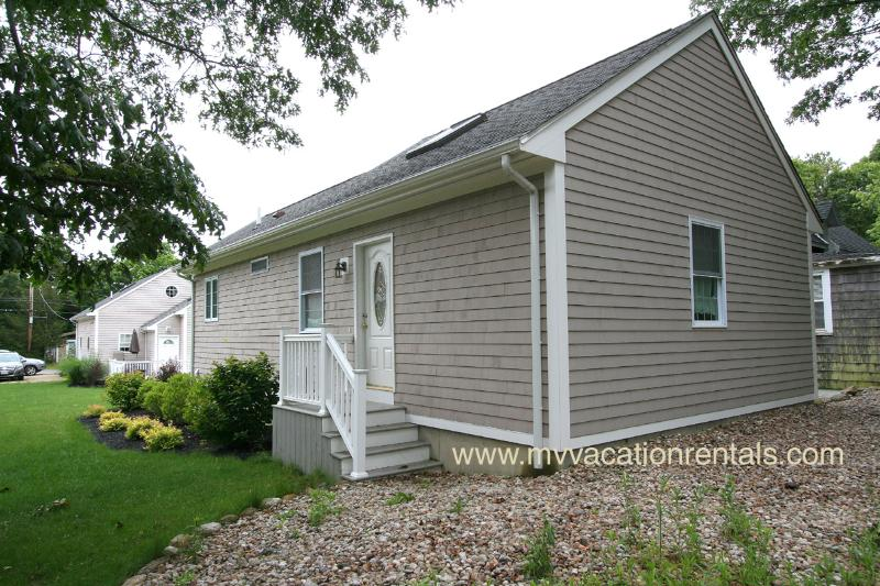 Entry Side of House - PEREG - Walk to Town and Beach, Newly Renovated - Oak Bluffs - rentals
