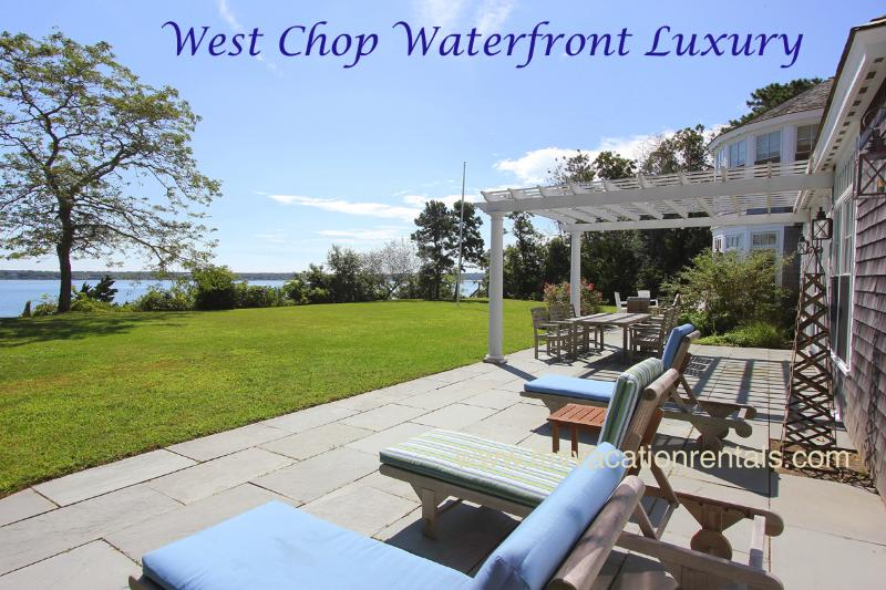 Waterfront & Beachfront - FIELR - Exquisite West Chop Waterfron Home, Panoramic Ocean Views, Beach, Less - Vineyard Haven - rentals