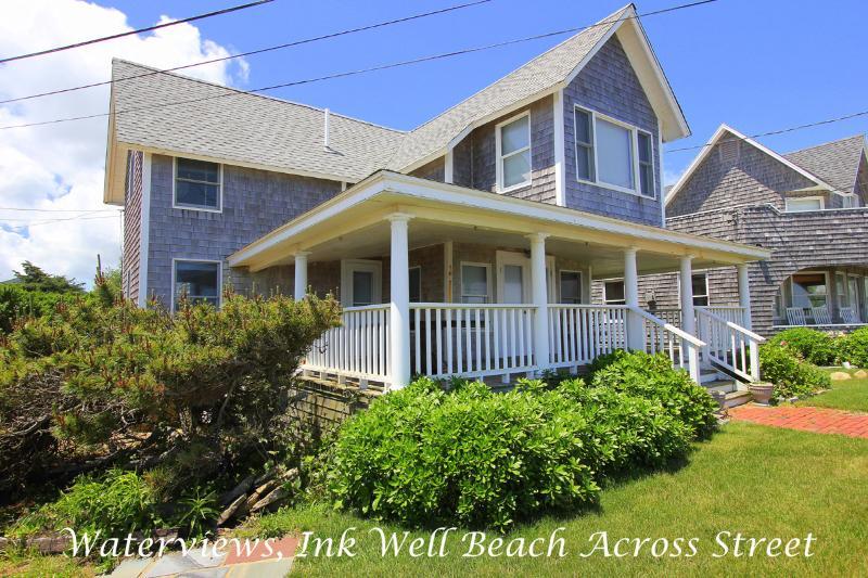 SAMAJ - Gorgeous Ocean View Cottage Home, Ink Well Beach Across Street, Walk to - Image 1 - Oak Bluffs - rentals