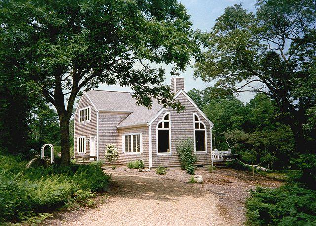 View of House - GOLUH - Wifi, A/C in Master - Chilmark - rentals