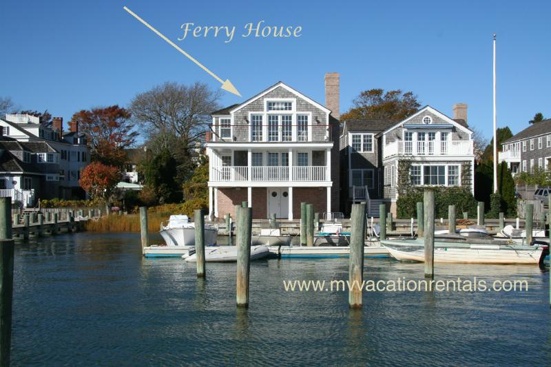 Ferry House on the Left - THARF - Ferry House, Luxury In Town Harborfront Home - Edgartown - rentals