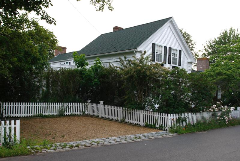 Exterior of House - BERWM - In Town, Central A/C, Wifi Internet - Edgartown - rentals