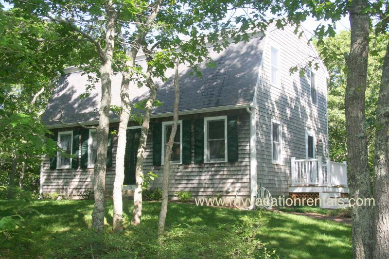 Exterior of House - MCDOJ - Nestled on Quiet St 1 Mile from Village Center, AC window all rooms,  Bike Paths to Town and Connecting Touring Trails at end of Street, Close to Edgartown Beaches. - Edgartown - rentals