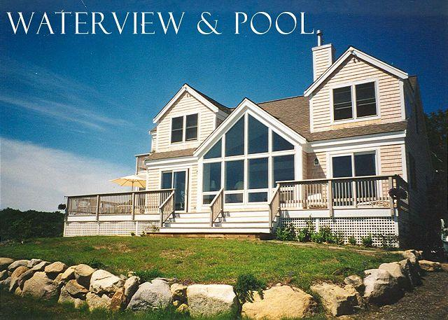 Front of House - WEINP - Hilltop in Aquinah, Pool, Spectacular Views, Expansive Decks, Perfect Family Retreat, Short Drive to Gorgeous Beaches - Aquinnah - rentals