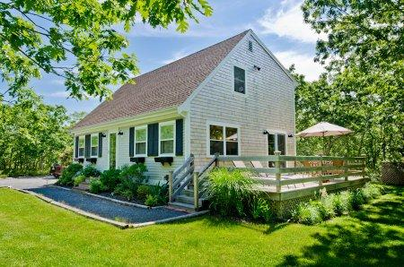 Exterior of House - BLANB - Beachy Keen House at Long Point, A/C, Designer Interior, Large Deck - West Tisbury - rentals