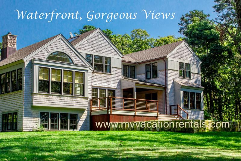 Exterior of House - VOORT - Gorgeous Tashmoo Waterfront, Panoramic Views, Architect Designed Home - Vineyard Haven - rentals