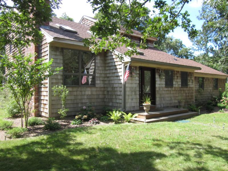 ROSSJ - 1.5 Acres of Privacy, Bike Paths Adjacent to House, Association Pool, WiFi - Image 1 - West Tisbury - rentals