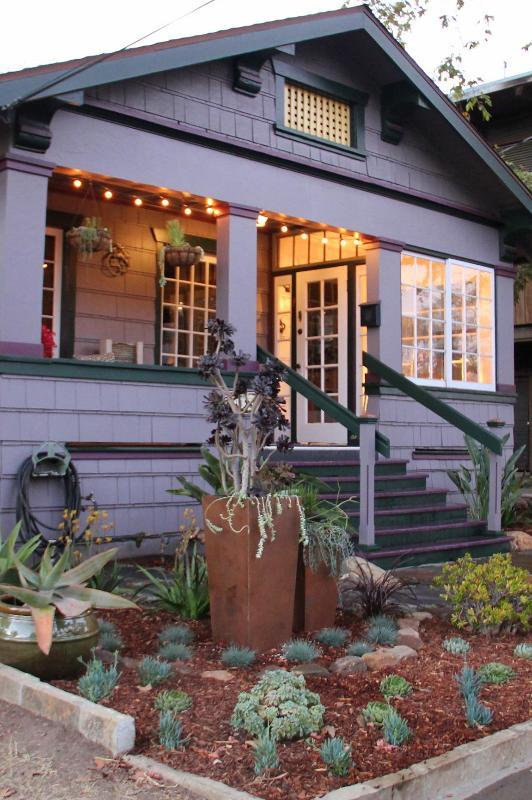 Front of House w/Amazing Garden - Casitas de Colores Fabulous Downtown (Front Unit) - Santa Barbara - rentals
