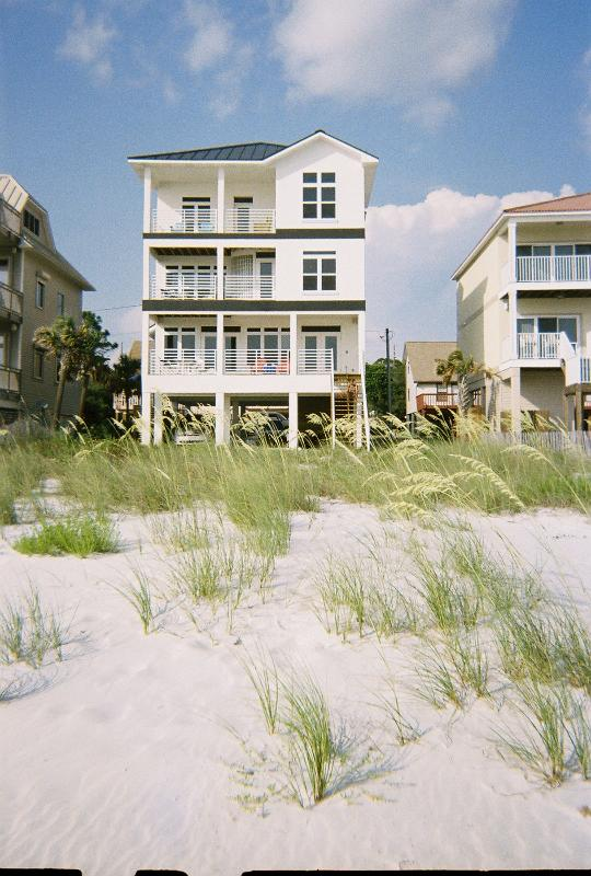 "View of house from beach - Girlfriends Getaway ""B & B Experience"" Package - Port Saint Joe - rentals"