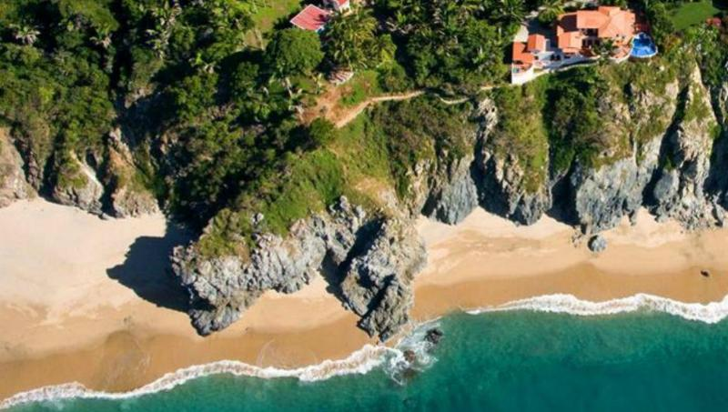 View from the sky - Beautiful Secluded Vacation Home - San Pancho - rentals