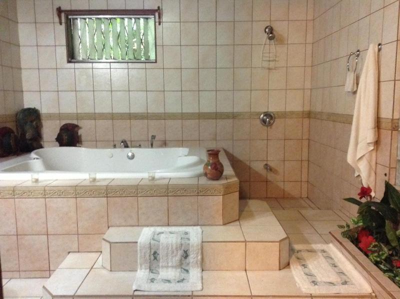 The most romantic bathroom in all of Manuel Antonio. - Naturalist's Delight - Private, Secure Location - Manuel Antonio National Park - rentals
