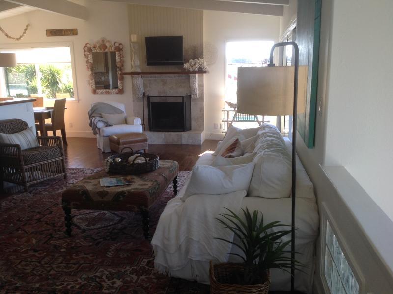 Living Room/Great Room - Ocean view Aptos/Seacliff home with Ocean Views - Aptos - rentals