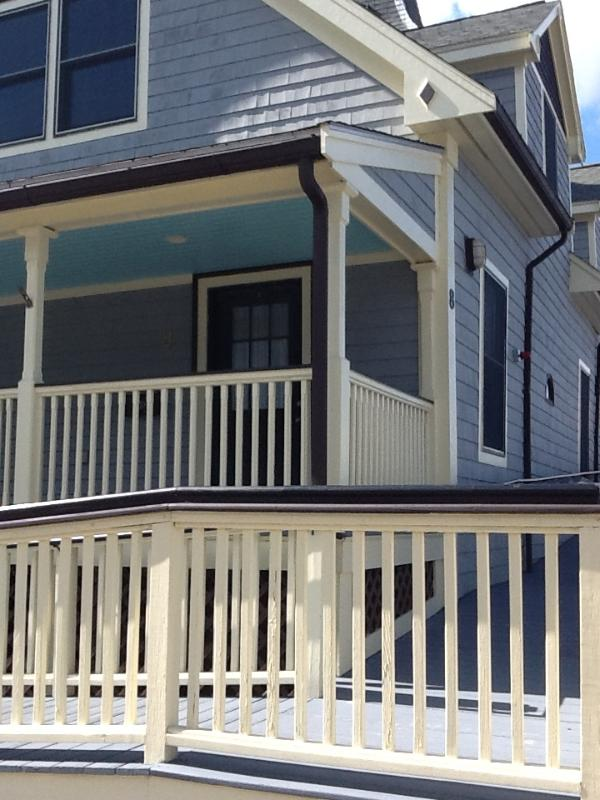 Front entrance to apartment - Waterfront 2 Bedroom ! - Gloucester - rentals