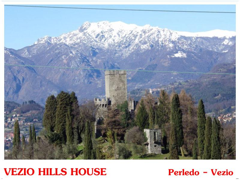 View from house - VEZIO CASTLE HOUSE - Perledo - rentals