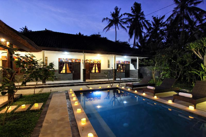 Exterior - Budget 4 Bedroom Private Pool Villa - Ubud - rentals