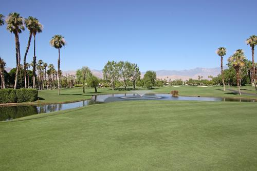 View From Our Living Room - Sunny & Sensational Private Country Club Close To Everything in Palm Desert - Palm Desert - rentals