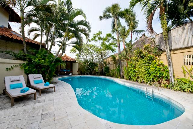 Pool area - 2 beautiful private villas with large private pool - Canggu - rentals