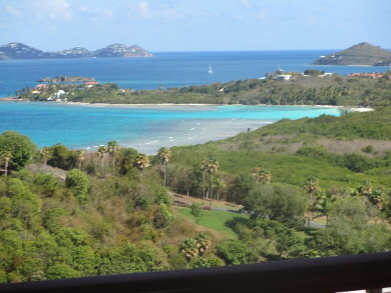 Lindquist Beach View from your deck - The Hummingbird's Nest - Saint Thomas - rentals