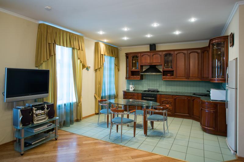 Kitchen - Bergus Apartments at Rubinsteina - Saint Petersburg - rentals