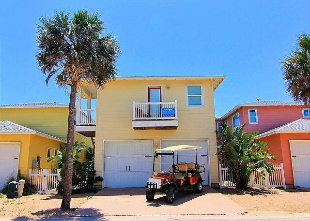 Welcome to The Basket Case - The Basket Case FREE 6 Seat Golf Cart, Sleeps 14, Pets, Parking for 5 cars - Port Aransas - rentals