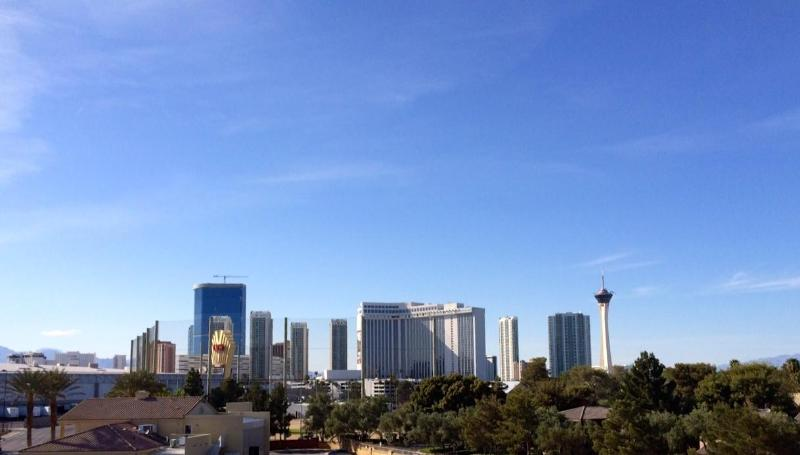The View From Master Bed & Patio !!! - C01, 3BR With An Amazing View, 5 Minutes Walk To C - Las Vegas - rentals