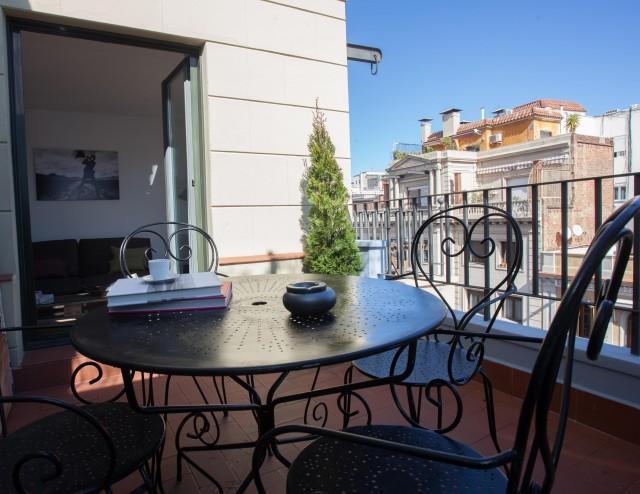 Modern and cozy Attic  Barcelona - Image 1 - Barcelona - rentals