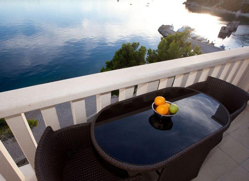 Terrace - Luxury apartment on the beach - Brela - rentals