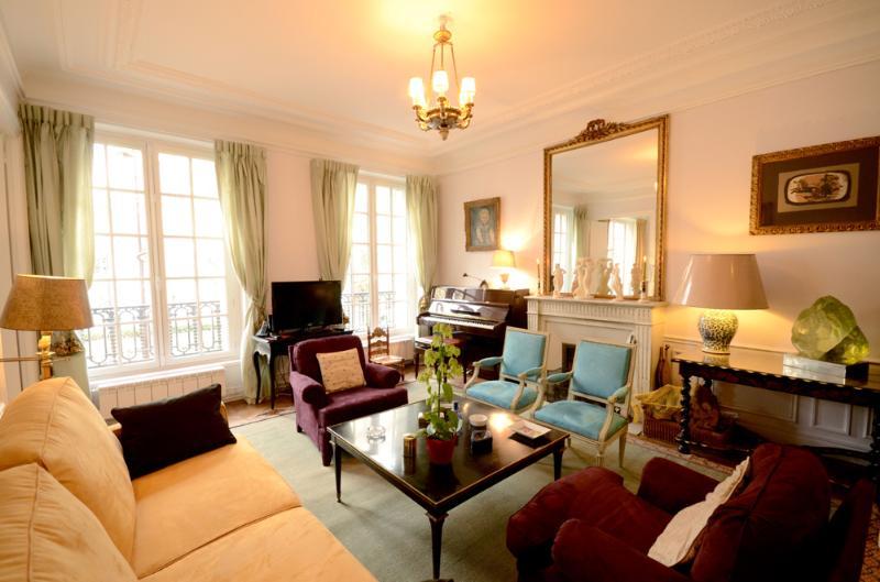 Living room - Porte Maillot - Neuilly-sur-Seine - rentals