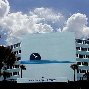 The Islander Beach resort - street  view - Beach Front Condo Resort - New Smyrna Beach, FL - New Smyrna Beach - rentals