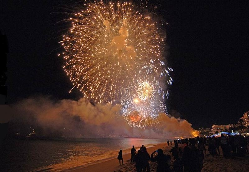 Amazing New Years Firework show on Cabo's pristine Medano Beach. - New Years in the Heart of Cabo - Cabo San Lucas - rentals