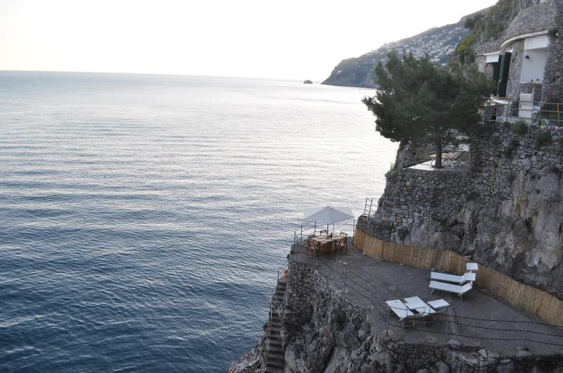 Your private piece of paradise - Between cliffs and sea, Amalfi coast,  7 pax, breathtaking - Furore - rentals
