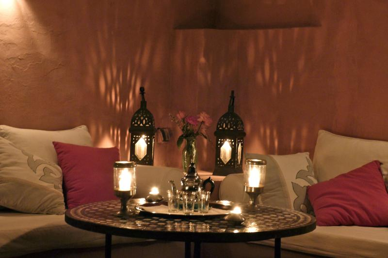Mint Tea in the terrace - PLEASANT RIAD IN MARRAKECH - Marrakech - rentals