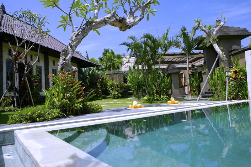 Great pool, big tropical garden, fabulous view - Fabulous Villa Maya, 2bd,rice field - Canggu - rentals