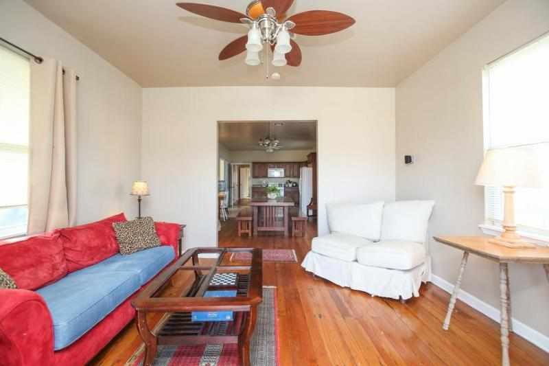 When you enter the house a large living room with sofa bed. - Walking Distance to Street Car and City Park - New Orleans - rentals