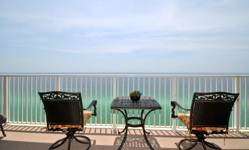 Balcony view!! - Fabulous BEACH front Condo; 2/2 at Tropic Winds - Booking Spring now!! - Panama City Beach - rentals