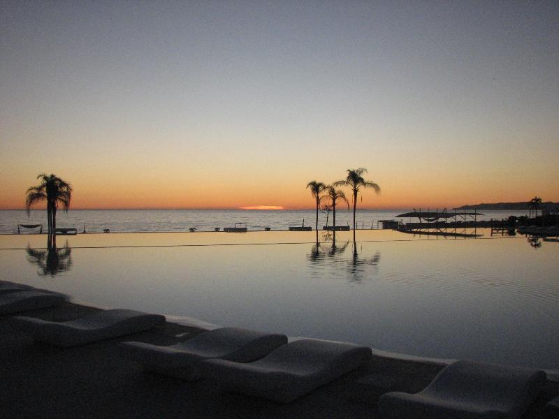 OUR POOLS AT SUNSET-NOS PISCINES AU COUCHER DE SOLEIL - Beachfront Newly Furnished Condo - Nuevo Vallarta - rentals