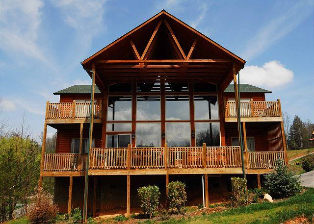 1716 - 1716 Rainbow's End Lodge - Pittman Center - rentals